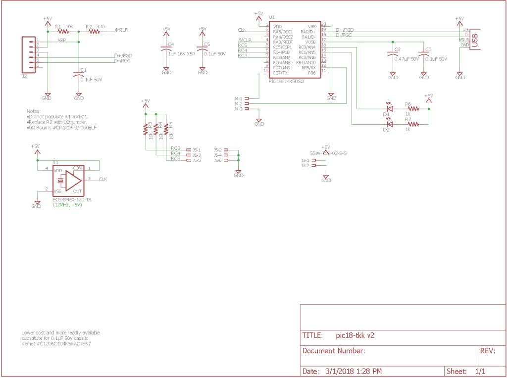 building a giant usb three key mechanical keyboard