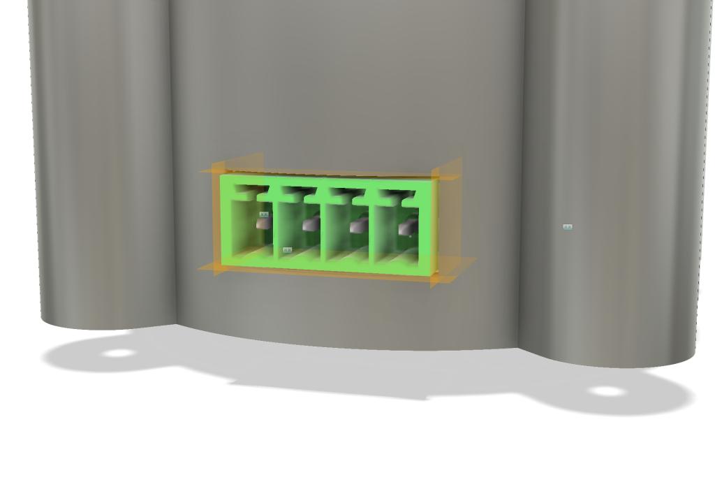 constructing connector feedthrough