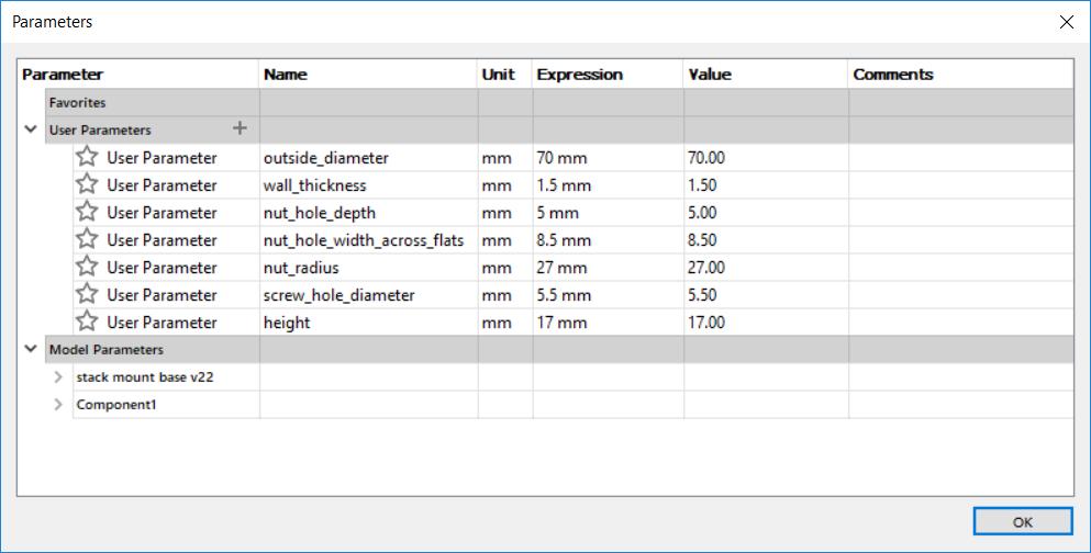 USB industrial stack light enclosure parameters.