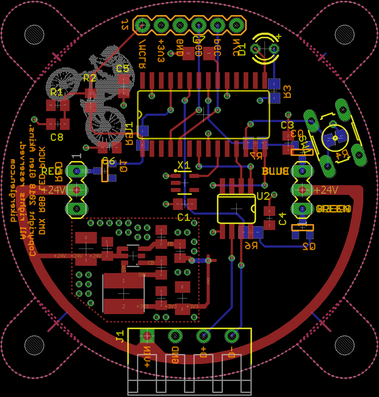Homebrew DMX-Controlled RGB LED Light | Photons, Electrons