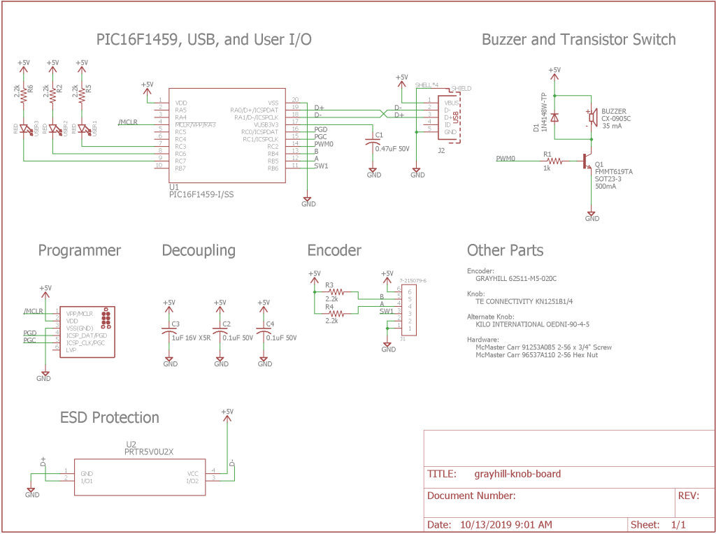 Completed schematic.