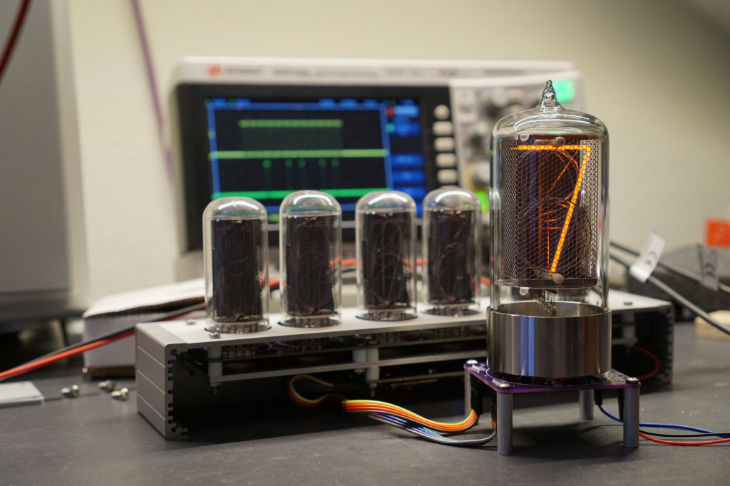 Bring up using the guts of an earlier IN-18 Nixie tube project.