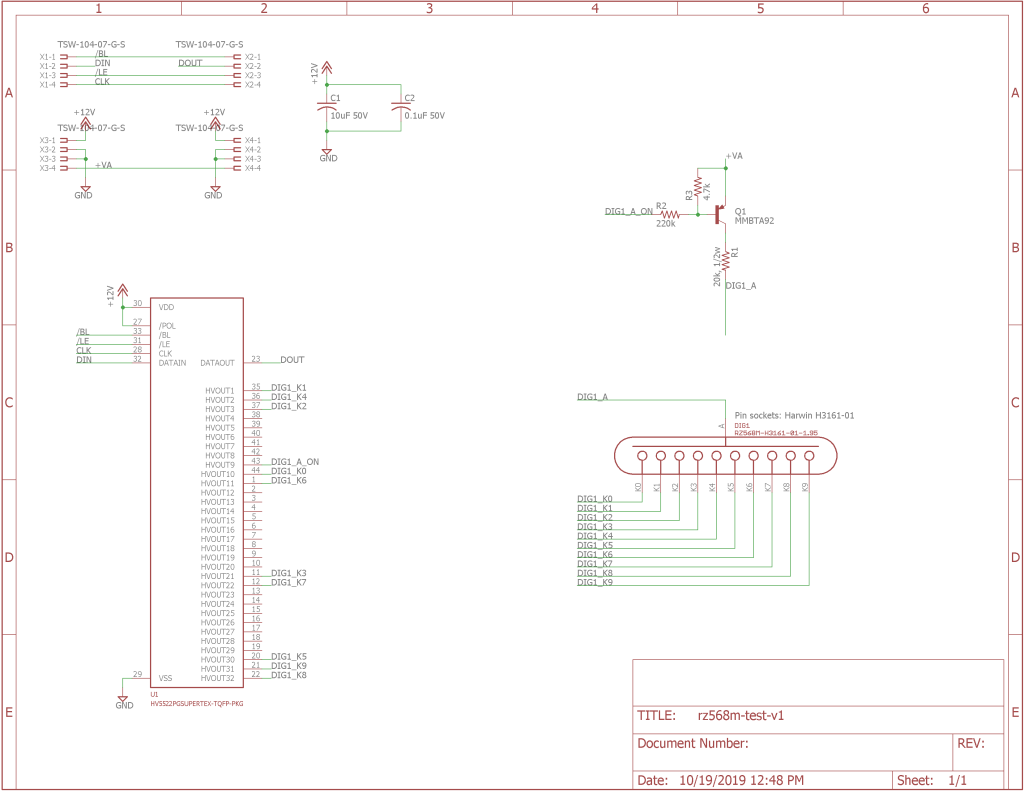 The finished schematic.