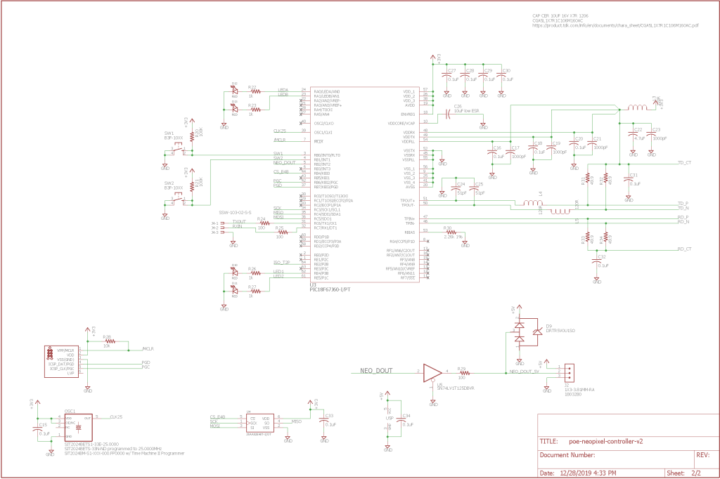 Finished schematic, page two.
