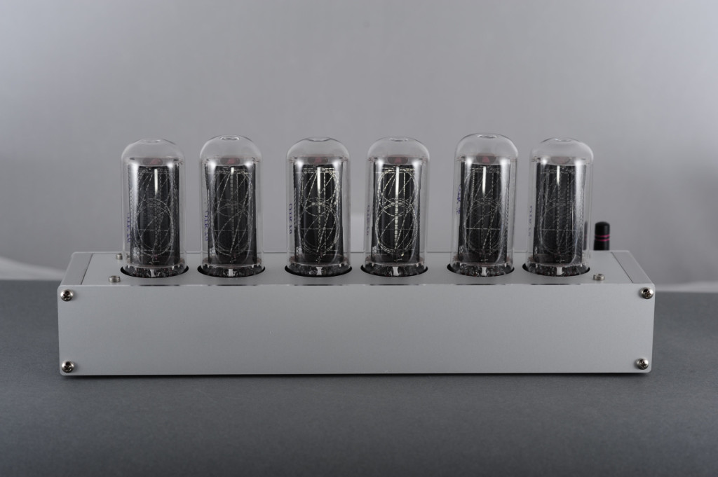 My six tube IN-18 Nixie tube clock from 2018.
