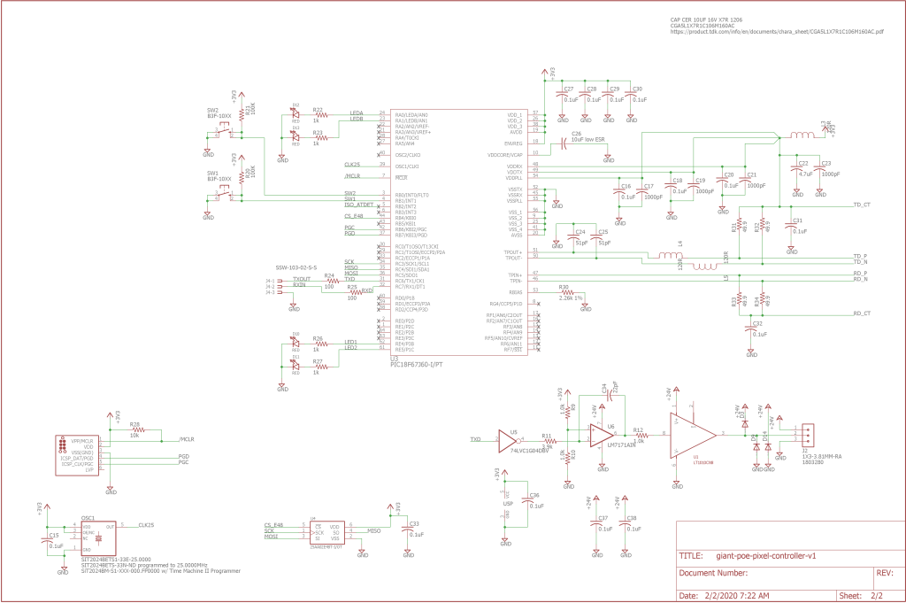 Schematic page two.