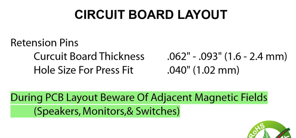 An ominous sounding warning in the datasheet.