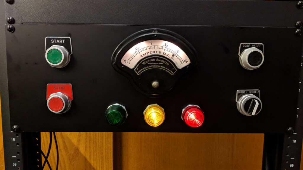 Another analog panel meter project using a vintage Weston panel meter.