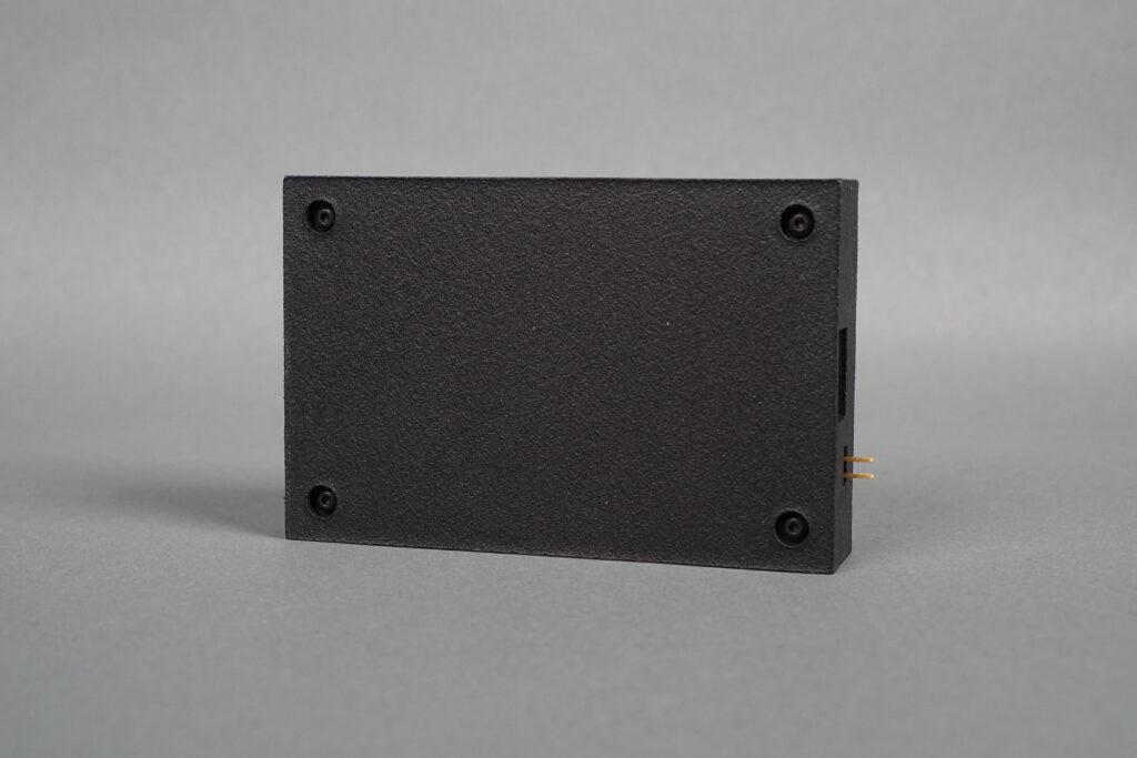 Bottom view of the USB knob box.