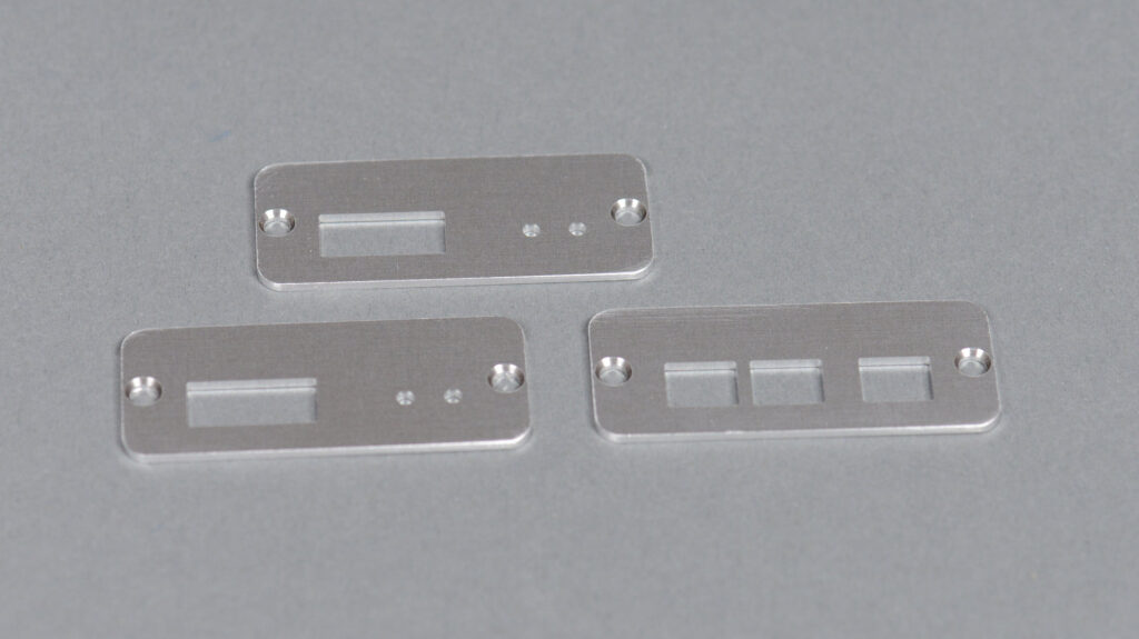 The fabricated end panels.